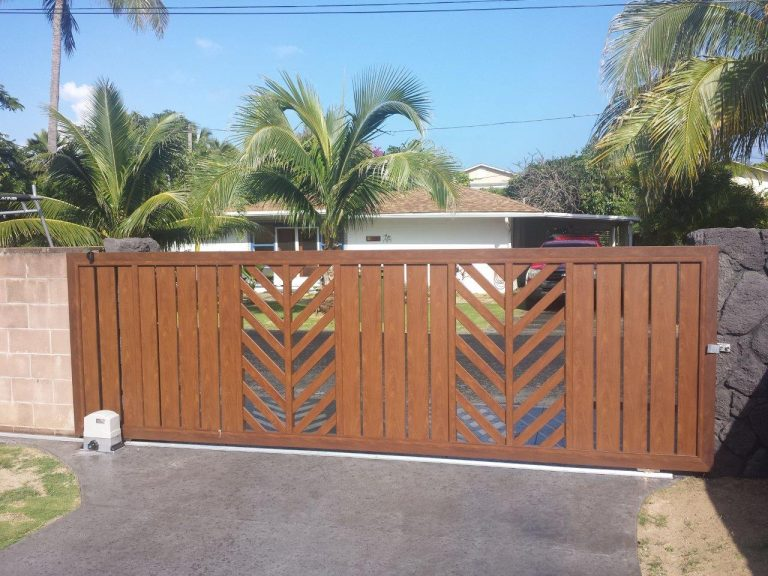 , Knotwood Aluminium Gates, Hallett Home Solutions