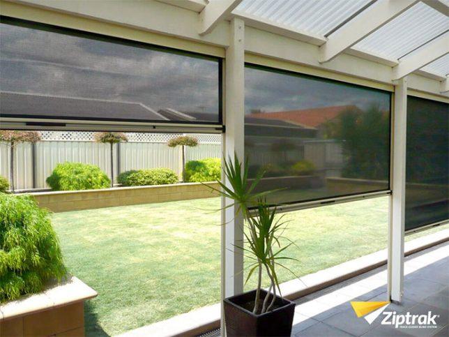 , Ziptrak® Outdoor Blinds, Hallett Home Solutions